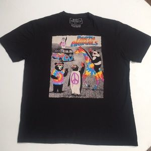 Party animals riot society shirt